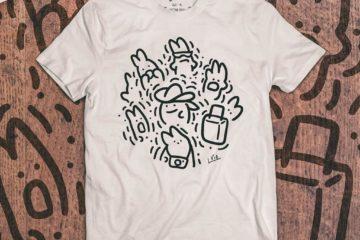 maglietta per giveaway