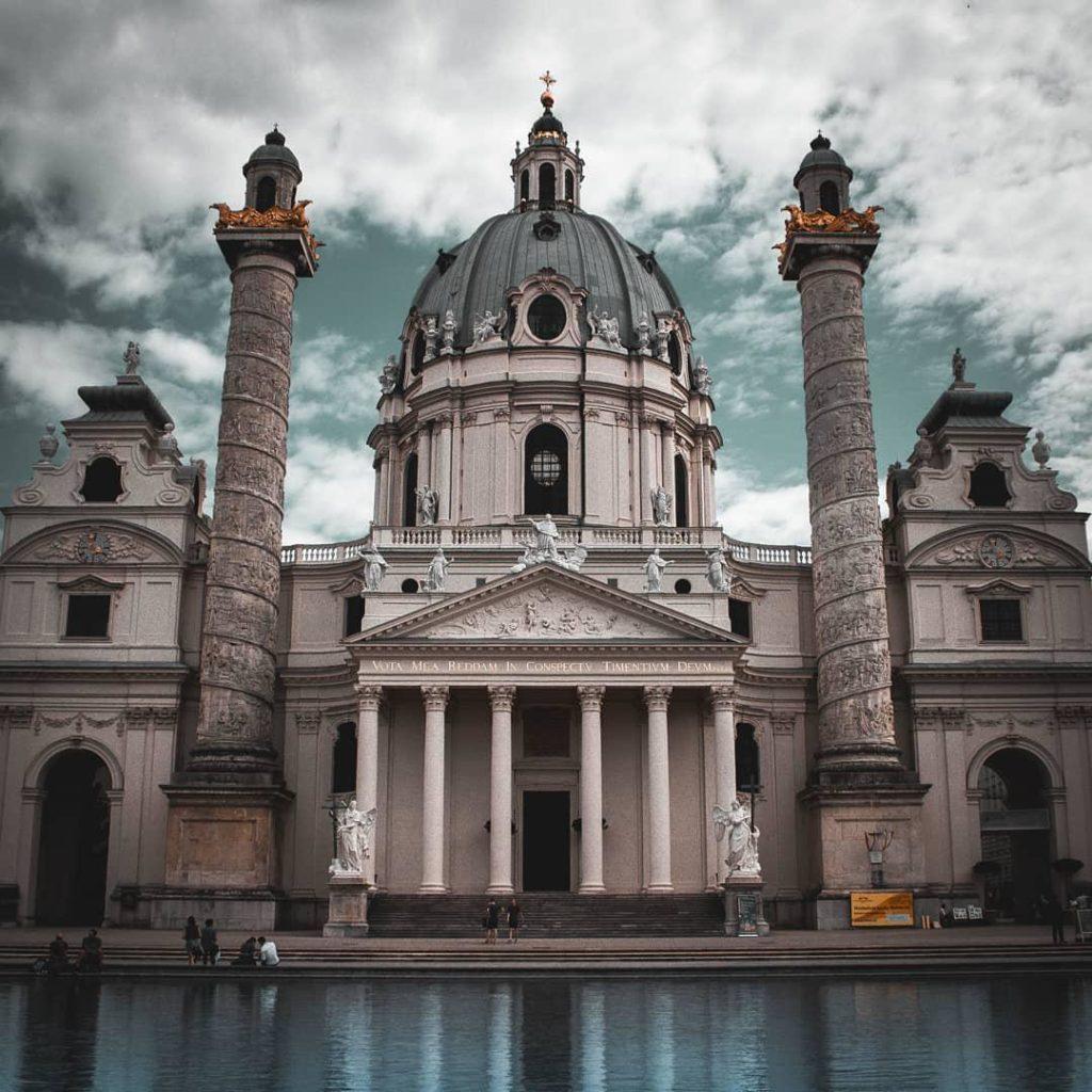 10 cose da vedere a Vienna: chiesa di San Carlo