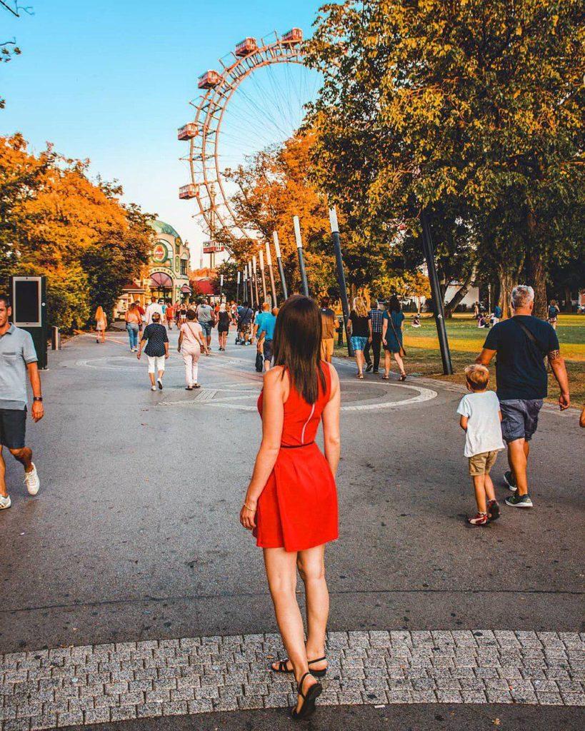 Prater parco divertimenti Vienna