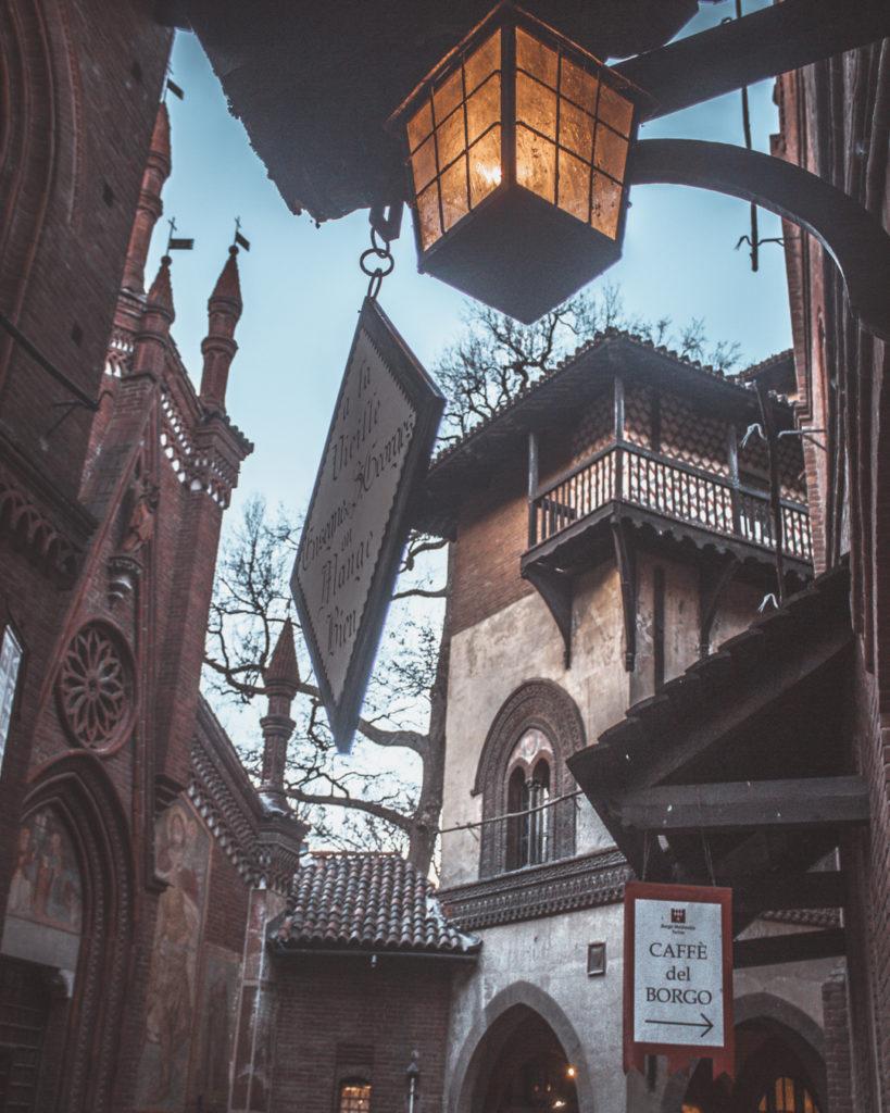 borgo medievale torino curiosità sul piemonte