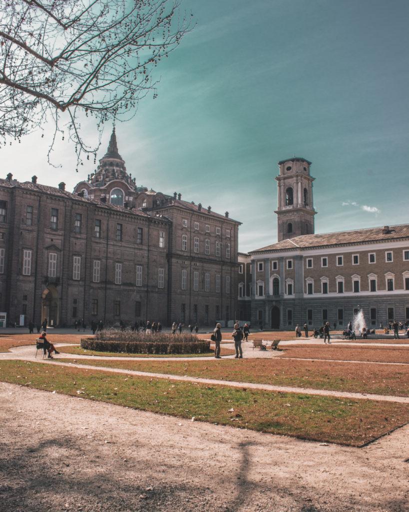10 cose da vedere a Torino: Il giardino del Palazzo Reale.