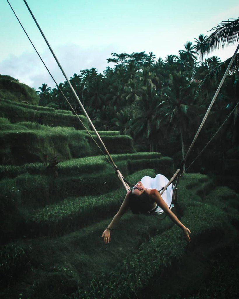 Risaie tegallalang a nord di Bali