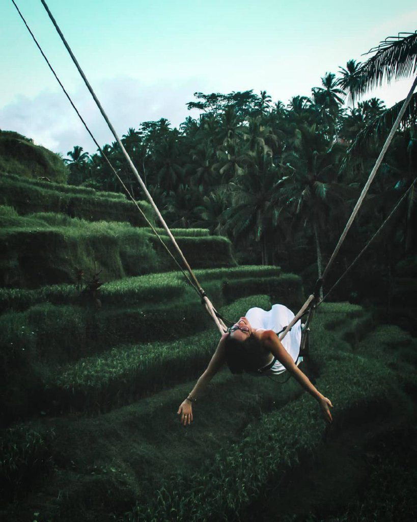 Risaie tegallalang a nord di Ubud