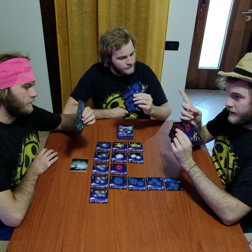 gioco da tavolo Hanabi