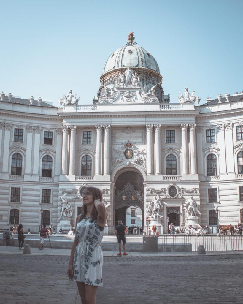 Hofburg, in centro a Vienna