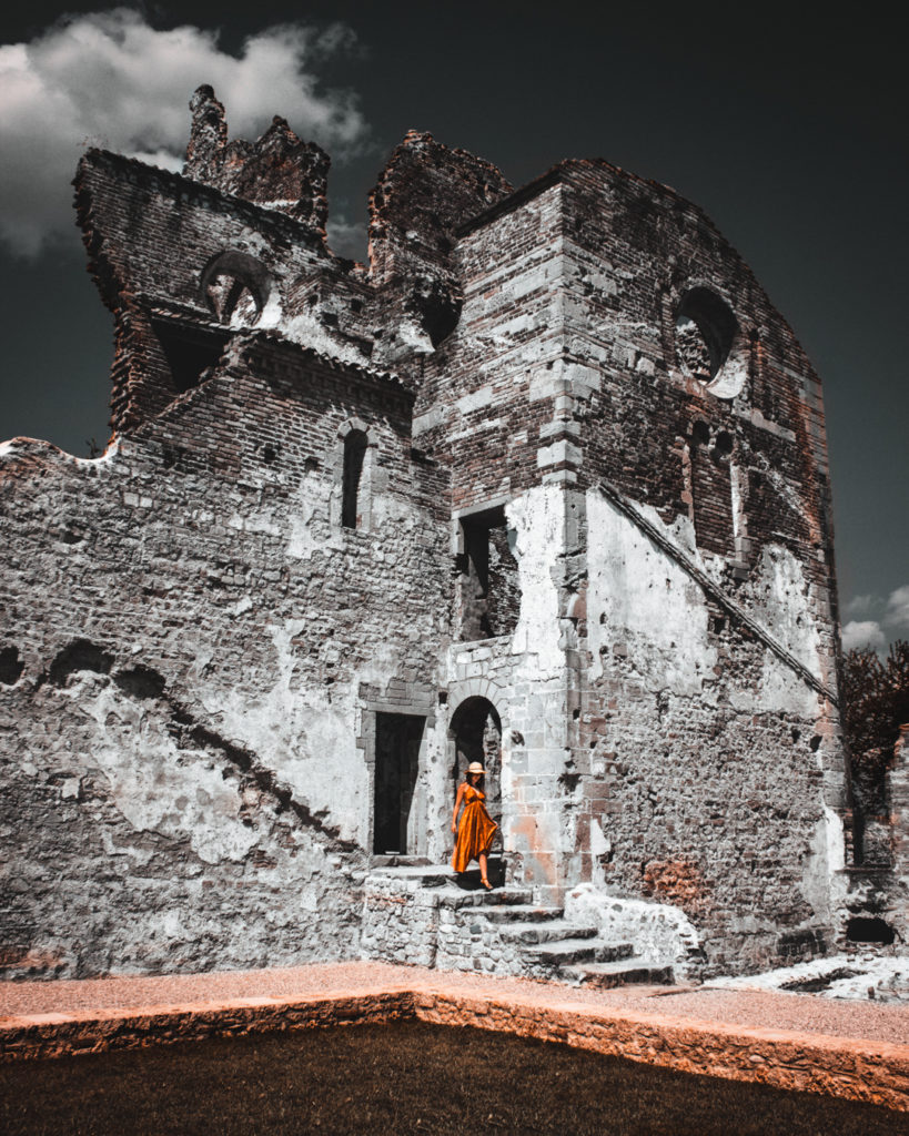 abbazia di sant'eustachio. Interno