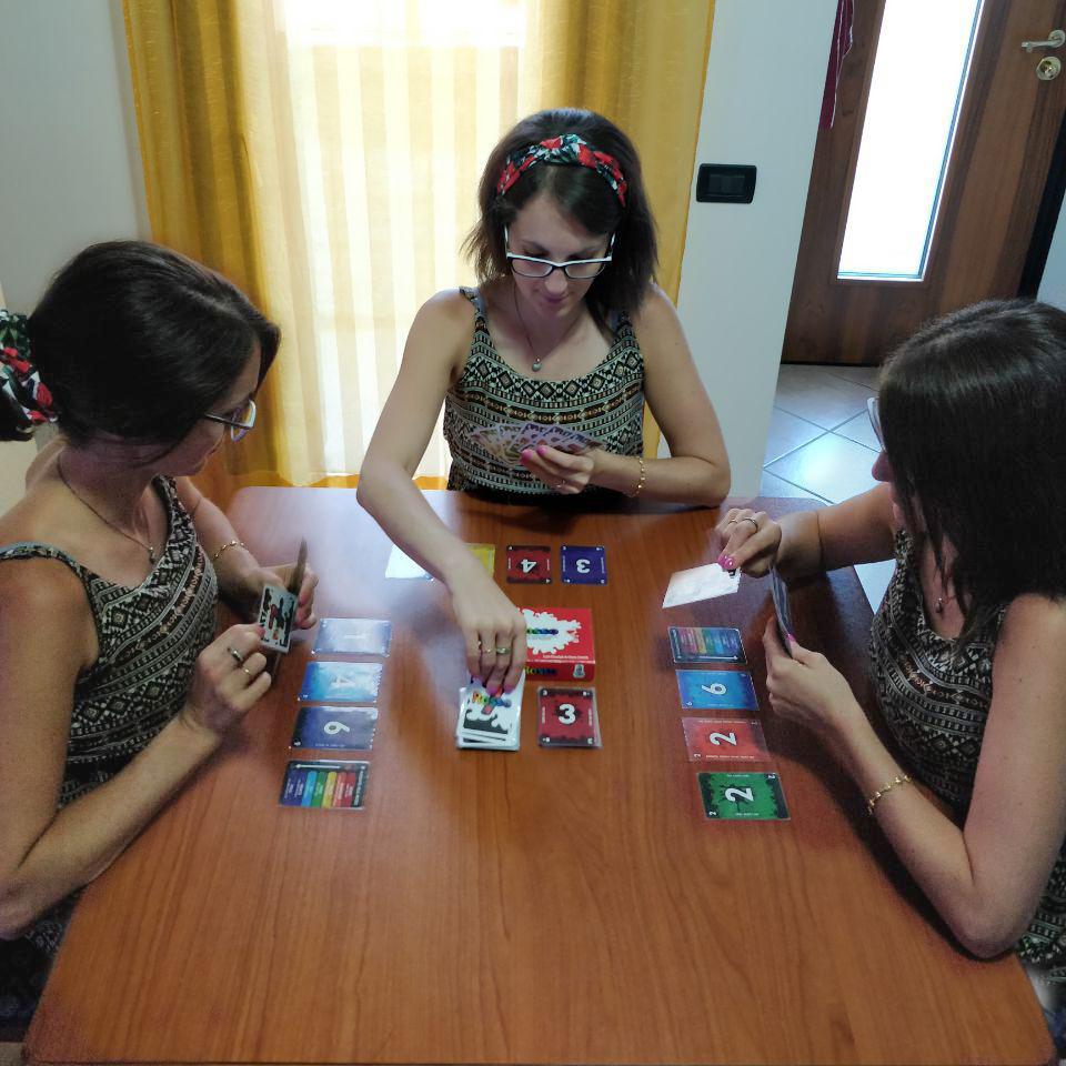 gioco da tavolo Sette rosso