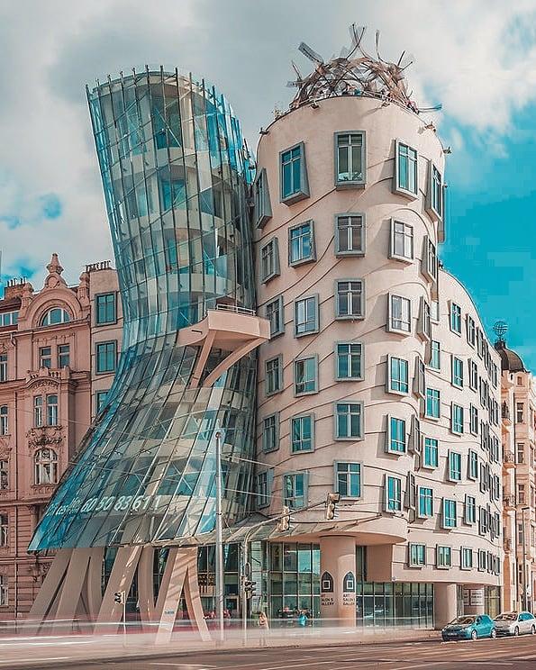 Giorno 2 a Praga: la casa danzante