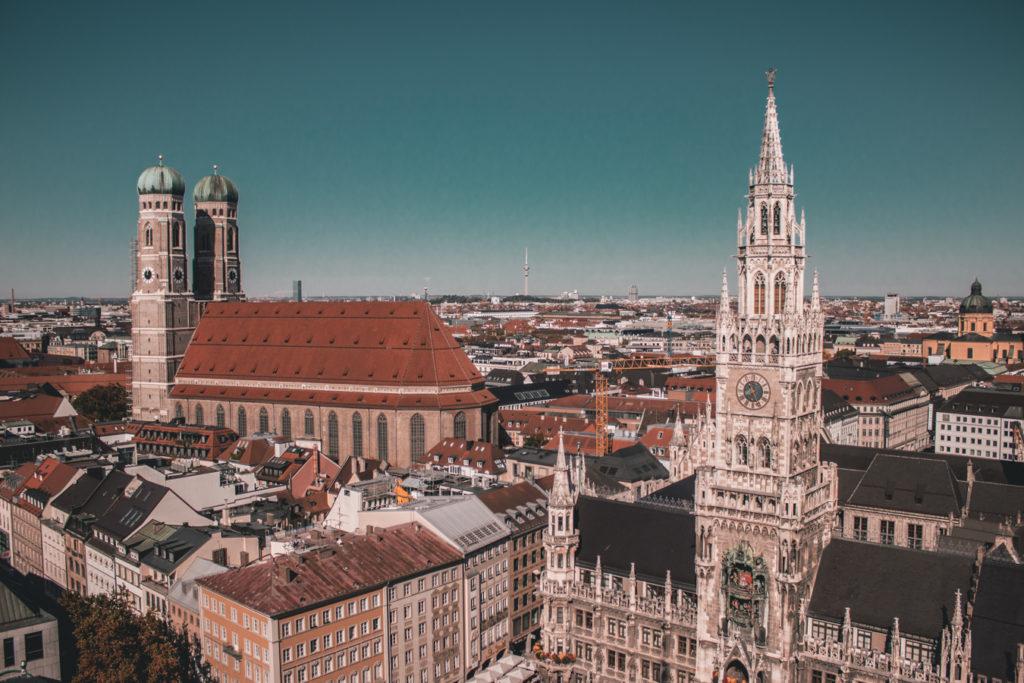 vista dall'alto Monaco di Baviera