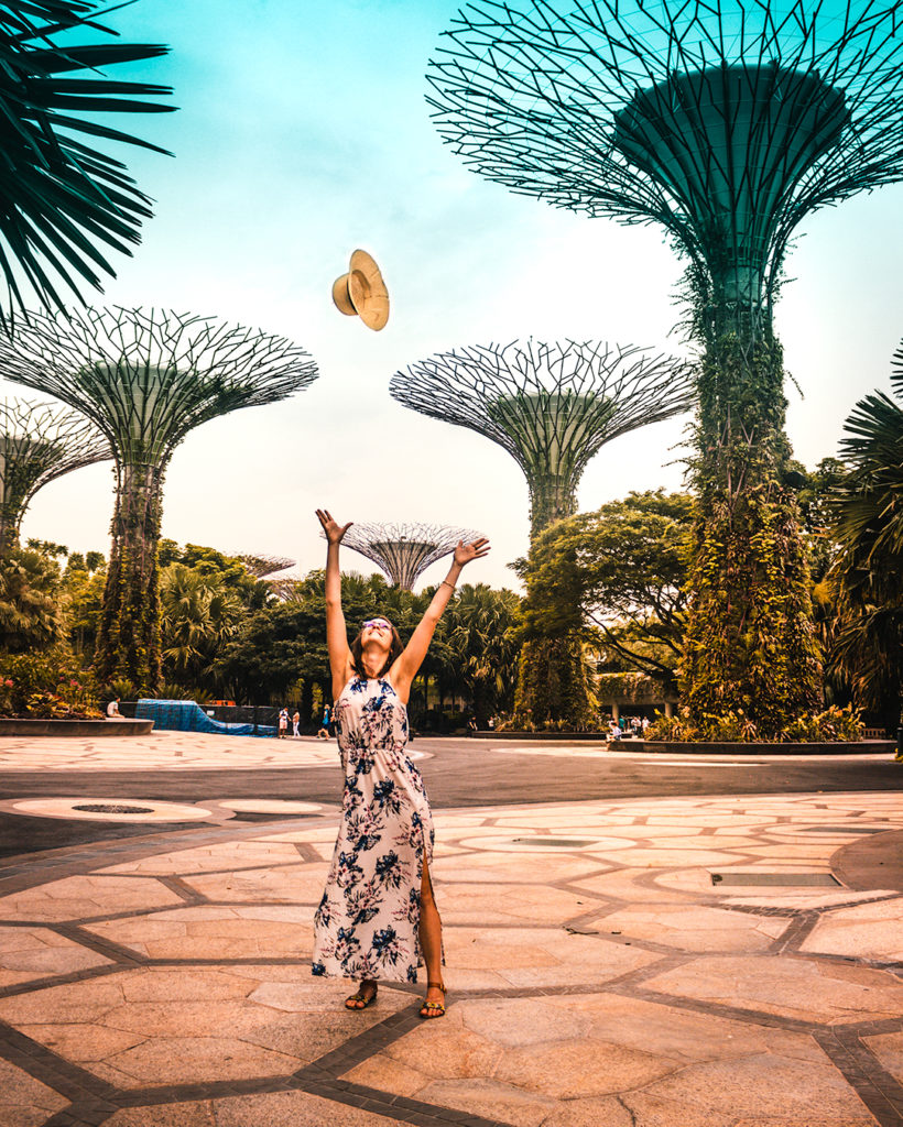 Scalo a singapore: il garden by the bay