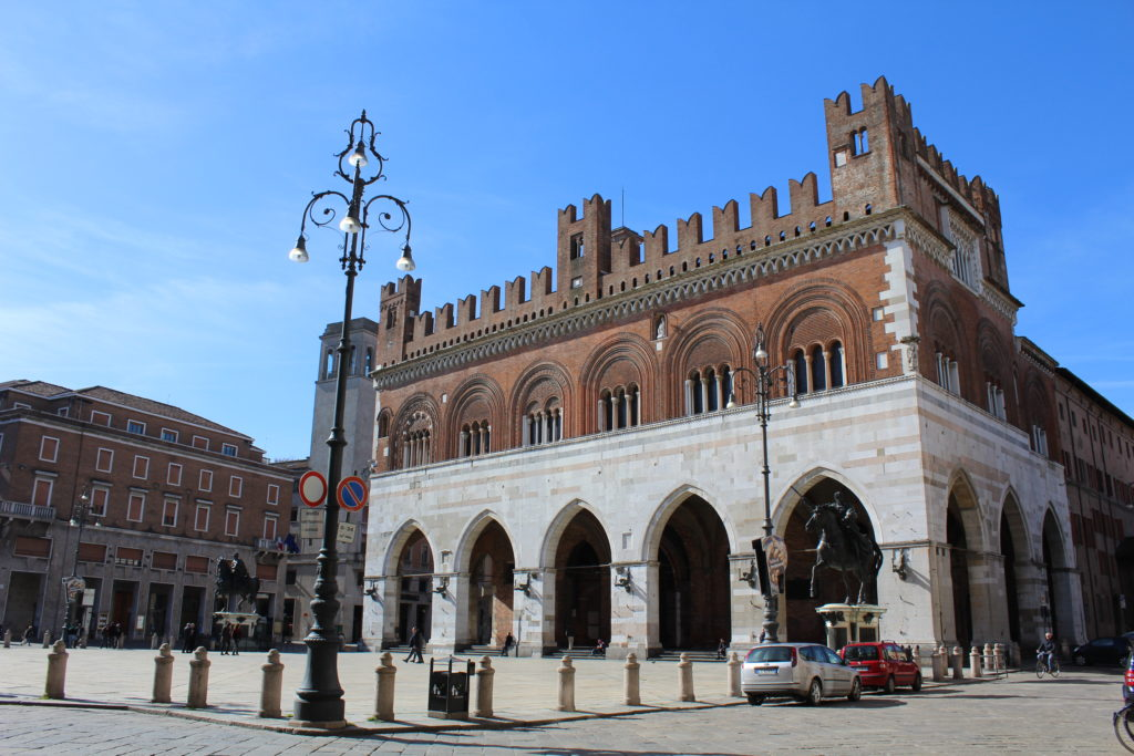 Il centro storico di Piacenza