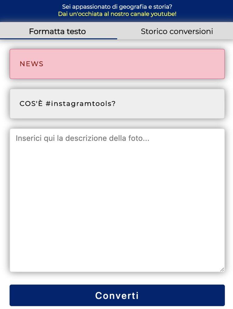 tool per instagram instagramtool