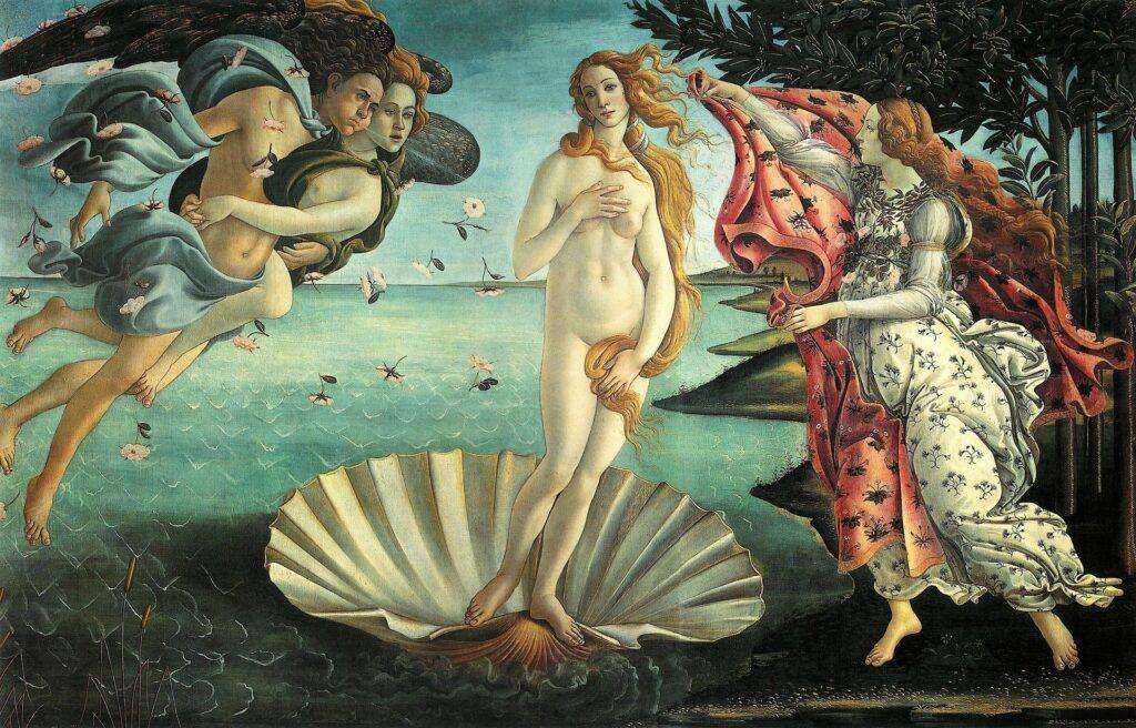 La Venere di Botticelli: curiosità sulla liguria