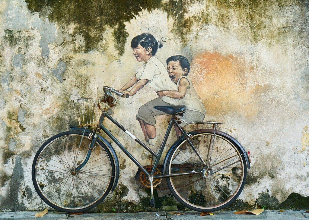Bicicletta murals
